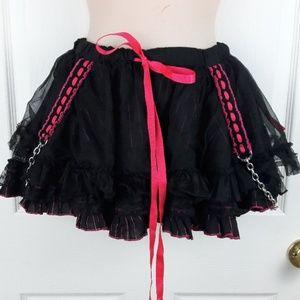 Tripp skirt Hot Pink & Black Tutu